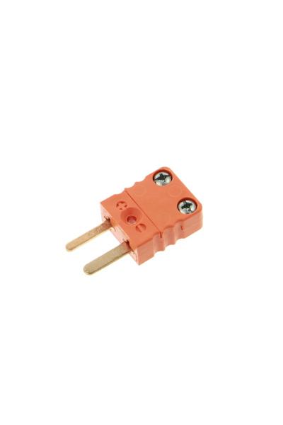 Thermocouple plug, type S